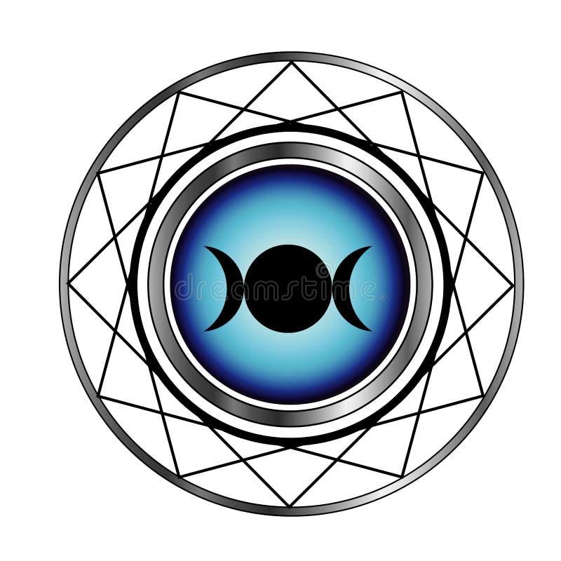 Triple Goddess Moon Symbol Stock Photo Image Of Holy 38850024
