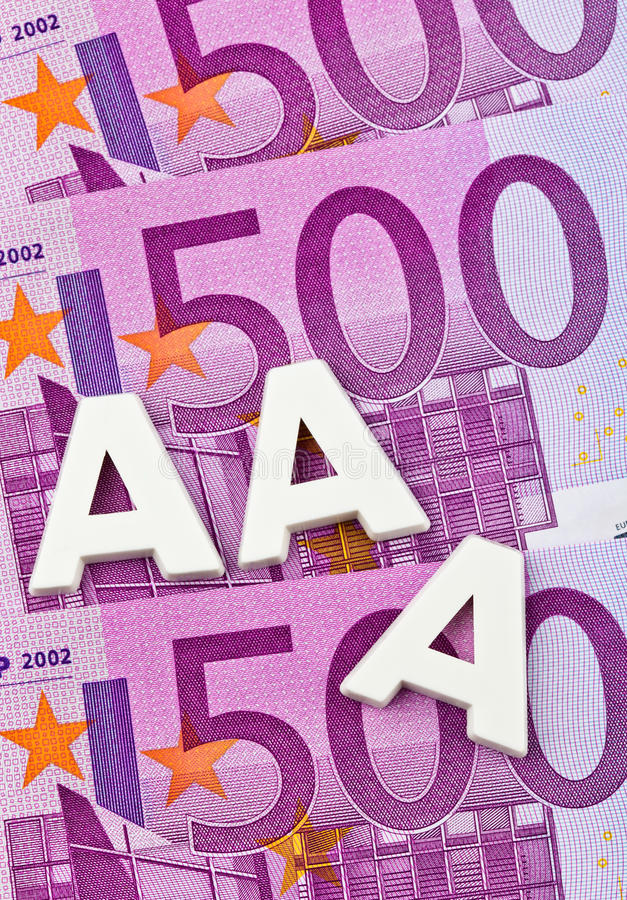 Download The Triple A Of A Rating Agency. Aaa Stock Photo - Image: 23114706