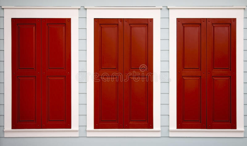 Download Triple Shutters stock photo. Image of shutters, closed - 41946472