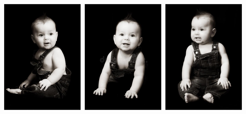 triplet royaltyfri fotografi
