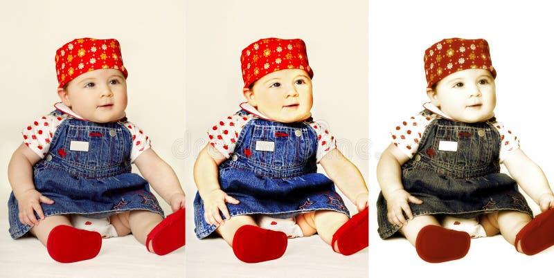 Tripletti fotografia stock libera da diritti