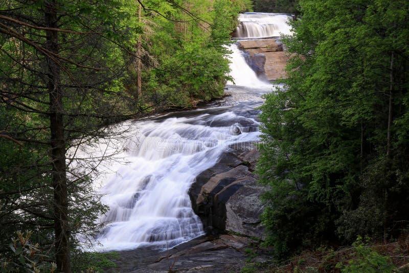 Triplicar-se cai North Carolina fotos de stock royalty free