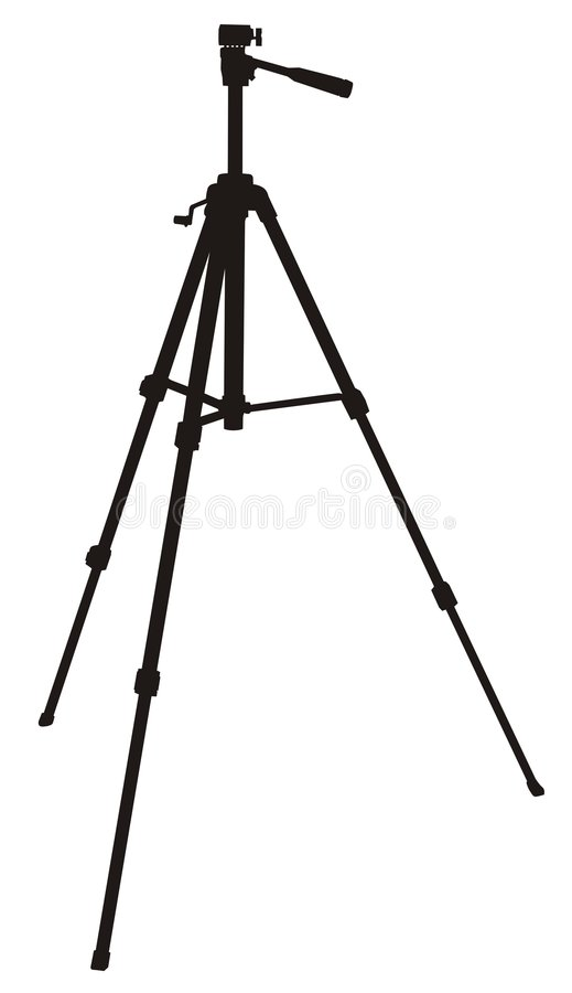 tripod stock illustrationer
