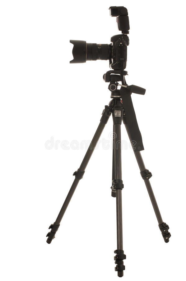 Download Tripod and camera stock image. Image of modern, equipment - 15668751