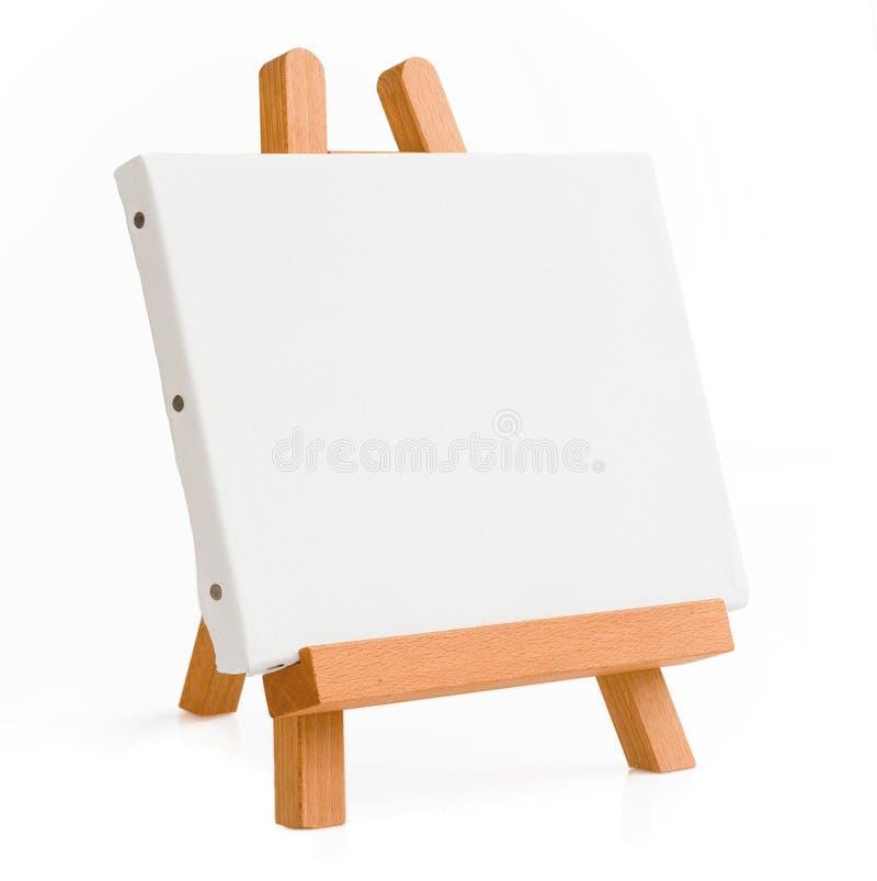 tripod för konstnärstafflimålning arkivbild