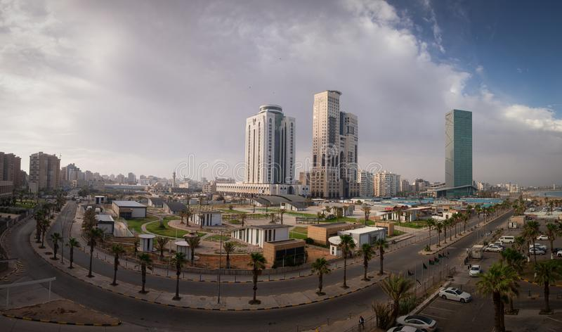 Tripoli Cityscape June 2019. A view of Tripoli, Libya North Africa stock photography