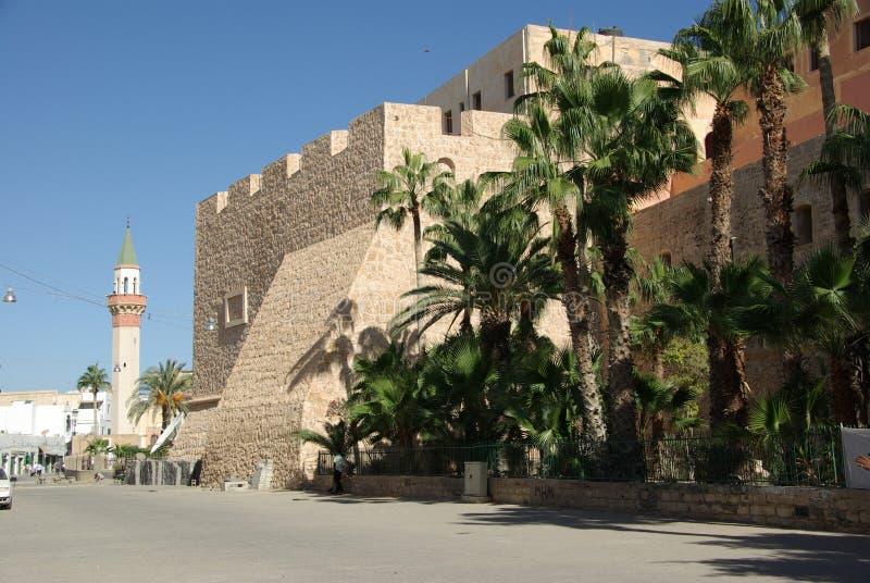 Tripoli, Libya. Ramparts next to the Jamahiriya museum of Tripoli, in Libya royalty free stock photos