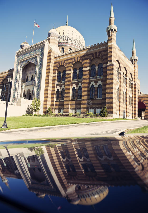 Tripoli Mosque in Milwaukee. Wisconsin stock photography