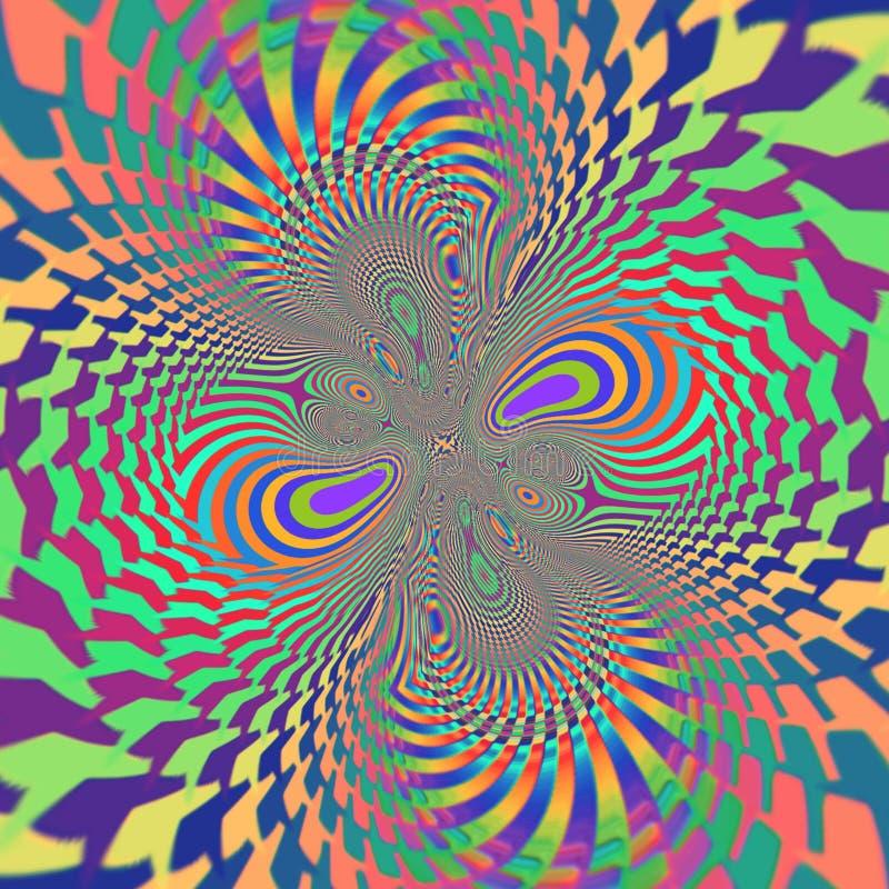 Trippy vektor illustrationer