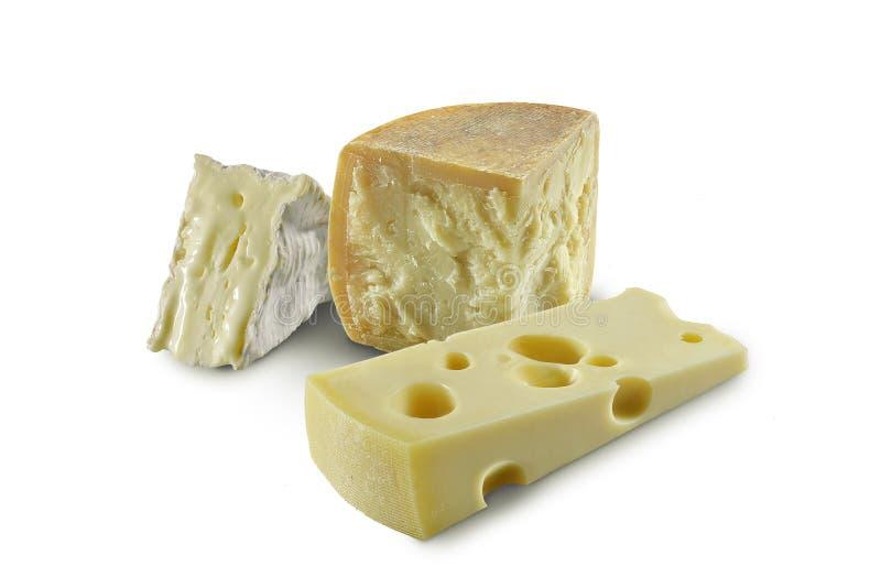 Tris des fromages image libre de droits