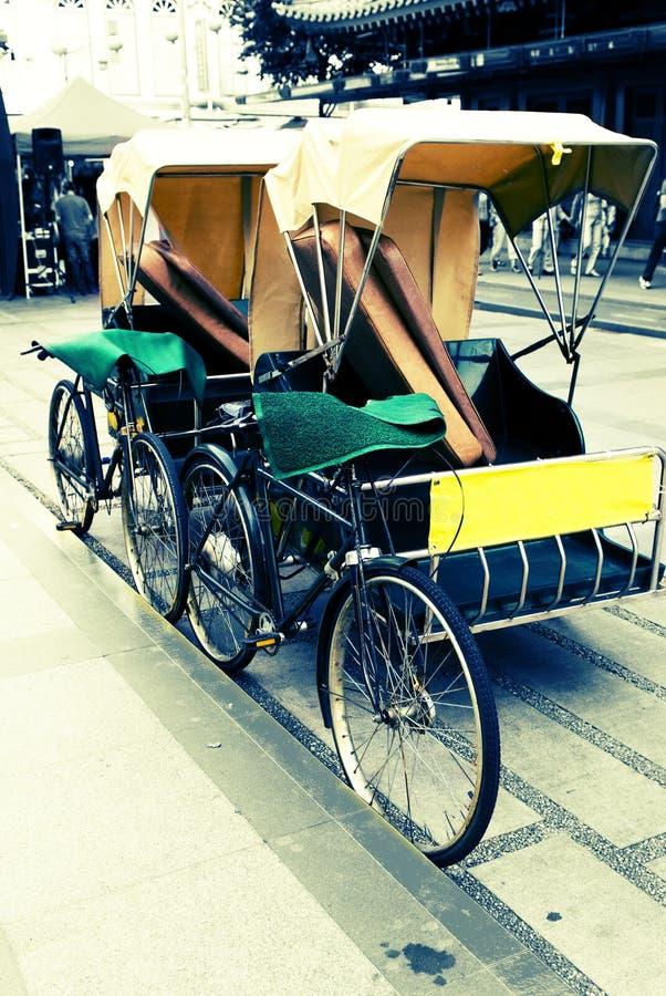 trishaw 免版税图库摄影