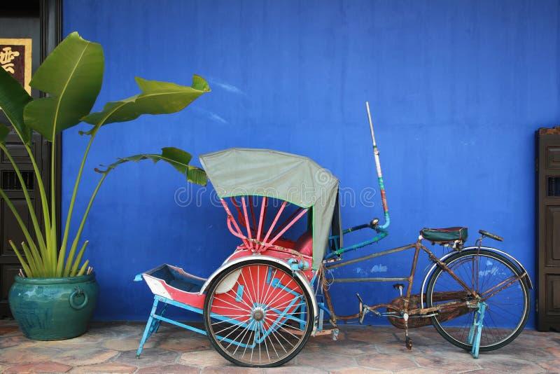 trishaw photo stock