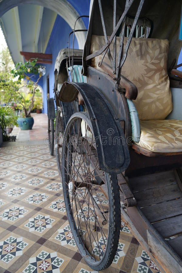 Trishaw royalty free stock photos