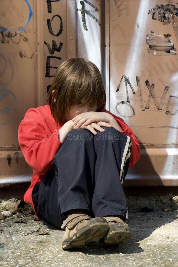 Tristesse de petite fille photos stock