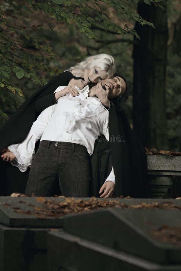 Tristeza do vampiro fotos de stock royalty free