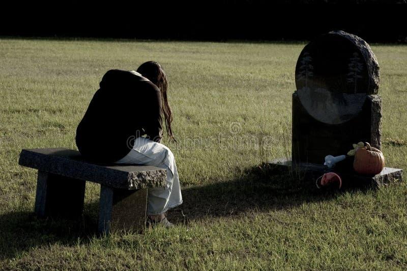 Tristeza Y Pena Fotos de archivo libres de regalías