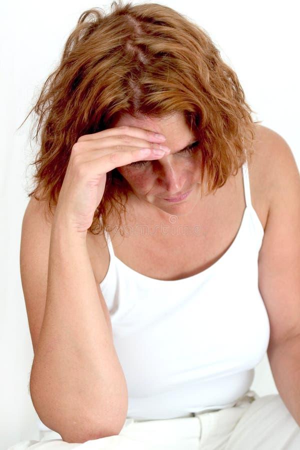 Tristezza (1) immagine stock