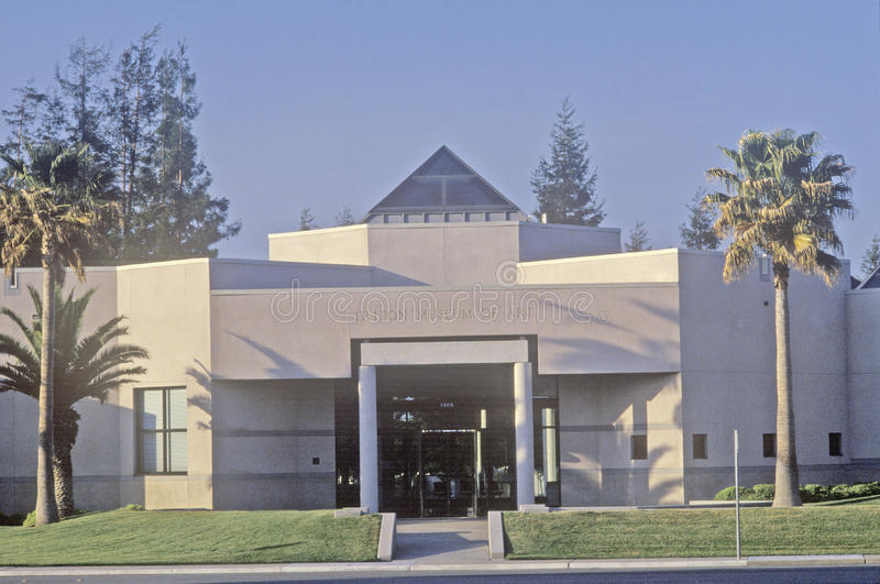Triton-Kunstmuseum in Santa Clara, Silicon Valley, Kalifornien lizenzfreies stockbild