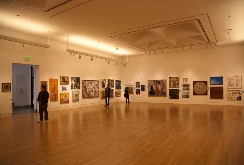 Triton Museum of Art royalty free stock photos