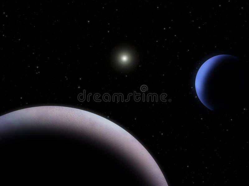 Download Triton and Neptune stock illustration. Image of infinite - 2328060