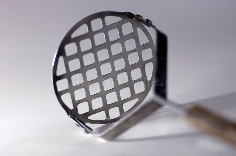 Trituradora de la patata foto de archivo