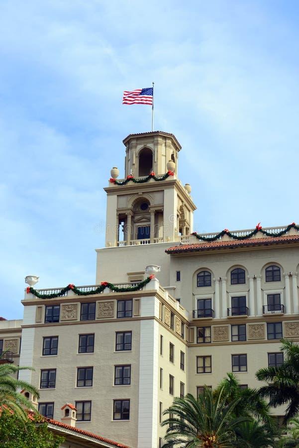 Trituradores hotel, Palm Beach, la Florida fotografía de archivo libre de regalías