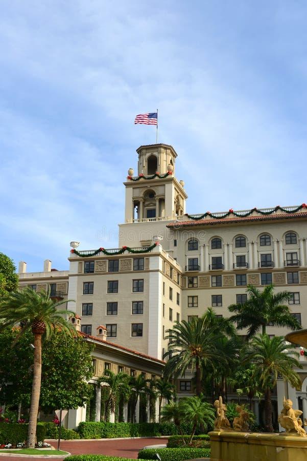 Trituradores hotel, Palm Beach, la Florida fotografía de archivo