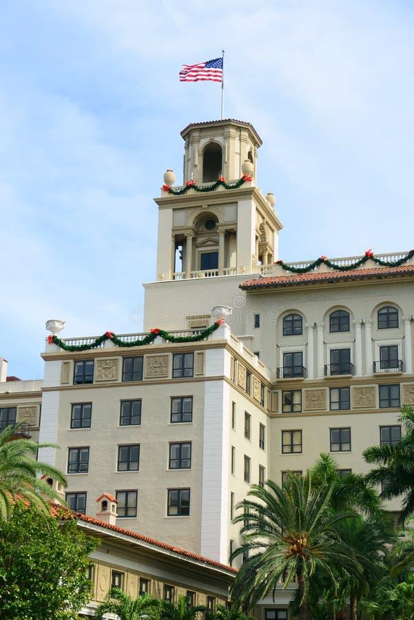 Trituradores hotel, Palm Beach, la Florida fotos de archivo