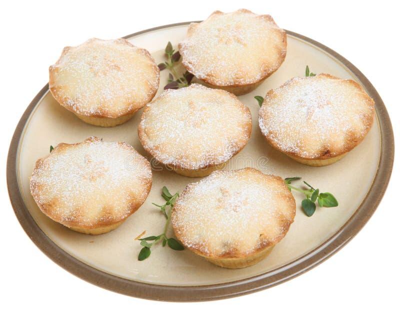 Triture tortas com a varredura do açúcar de crosta de gelo foto de stock royalty free