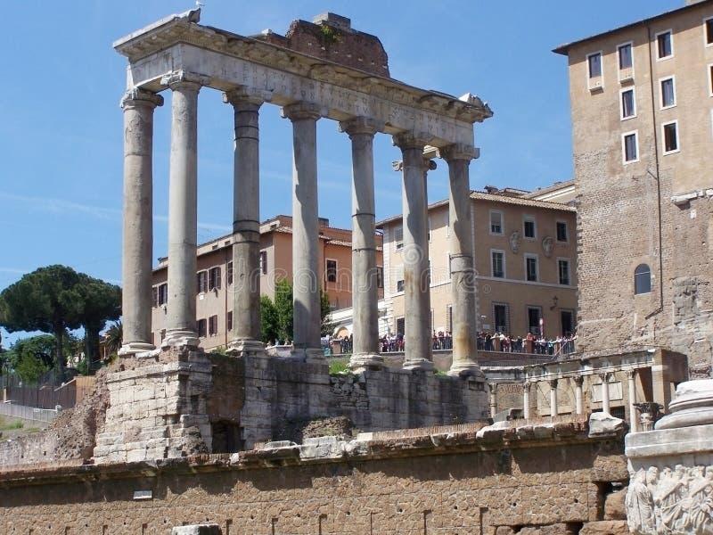 Triumph łuk, forum, Rzym zdjęcia royalty free