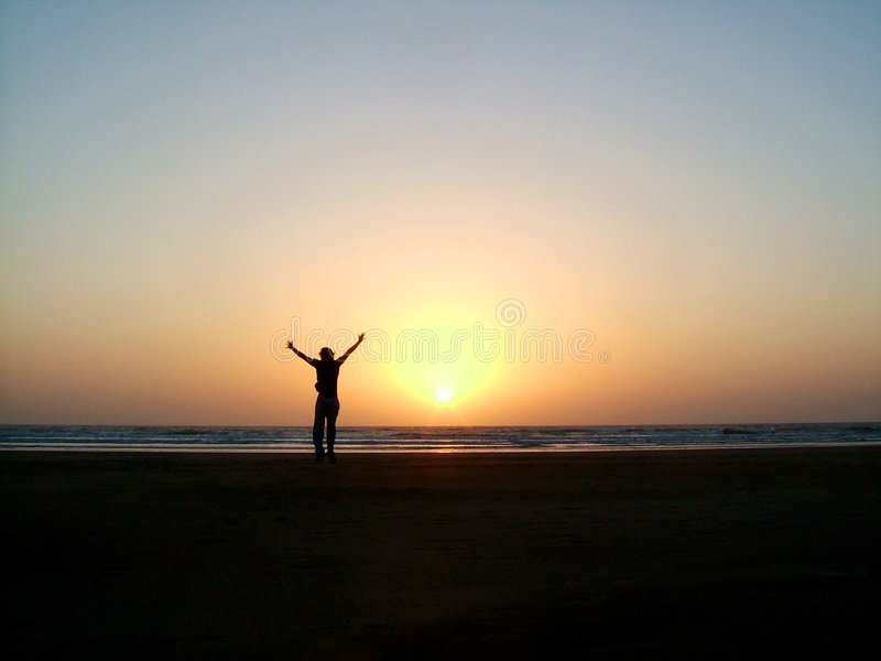 Download Triumph stock image. Image of silhouette, brightly, nature - 133657