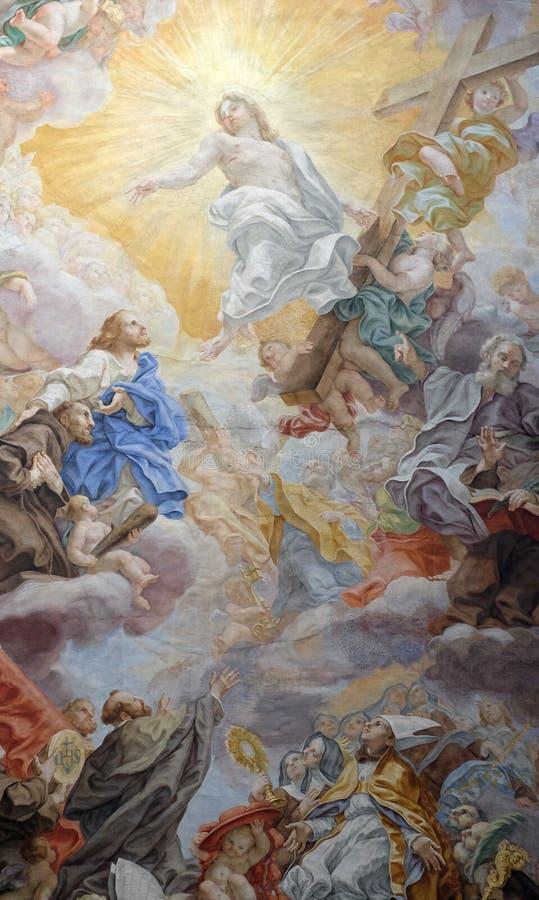 Triumph franciszkanina rozkaz obrazy stock