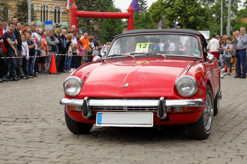 """Triumph-Hitzkopf-Kennzeichen III 1967†""""1970 lizenzfreie stockfotos"""