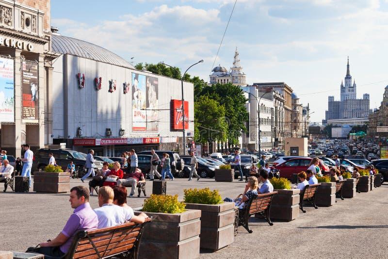 Triumph kwadrat w Moskwa obraz stock