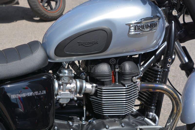 Vintage Classic Triumph Bonneville Motorcycle Badge Petrol