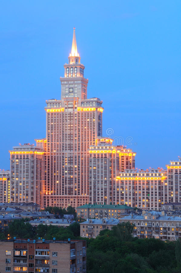 Download Triumph Palace stock photo. Image of tower, urban, russia -  10674974