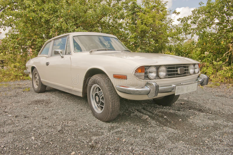 Download Triumph Stag Classic Car. Royalty Free Stock Photos - Image: 25516178
