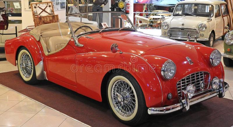 Triumph TR3 British Sports Car royalty free stock images