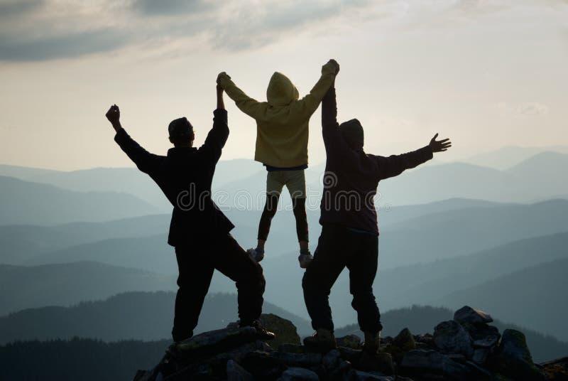 Triumph Of Winning Stock Image