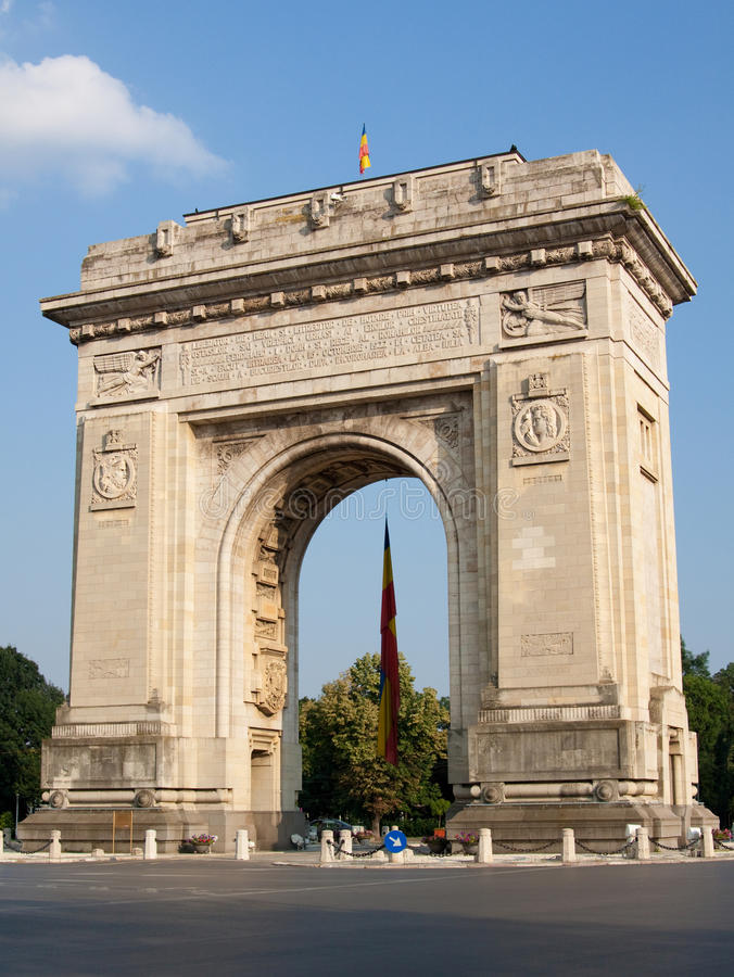 Download Triumphal Arch stock photo. Image of winner, symbol, road - 15516802