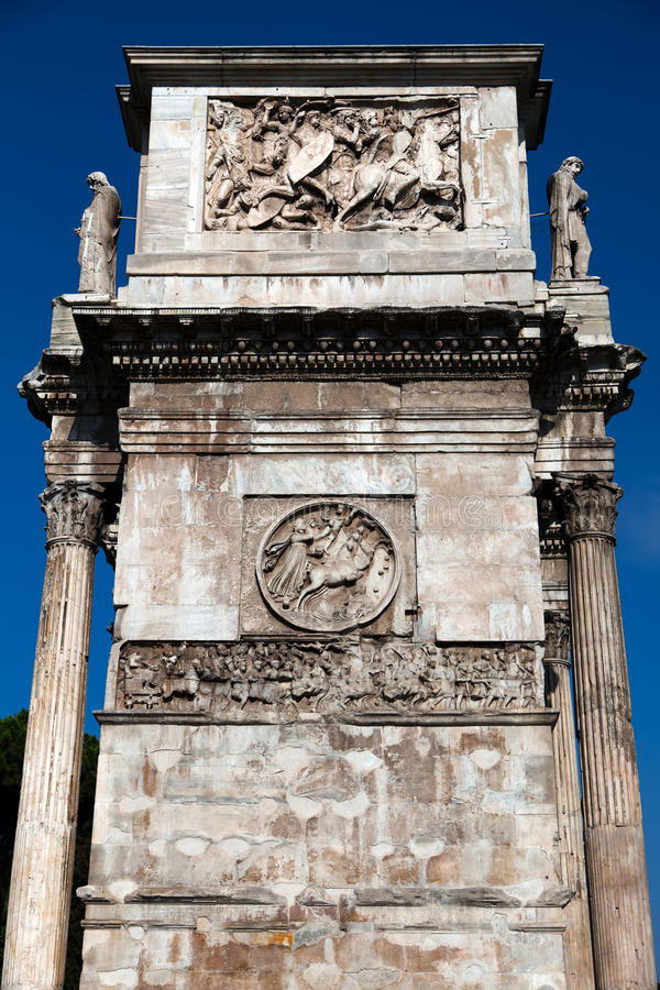 Download Triumphal Arch Of Constantine Stock Image - Image: 26761337