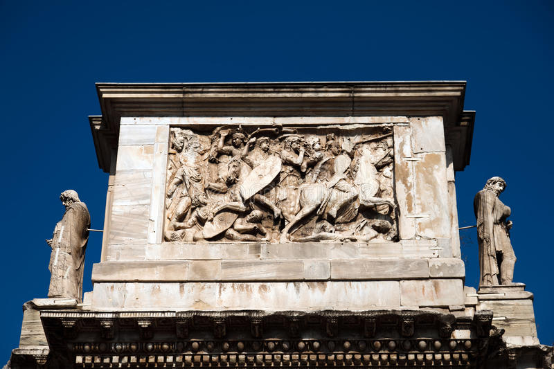 Triumphal Arch of Constantine royalty free stock images