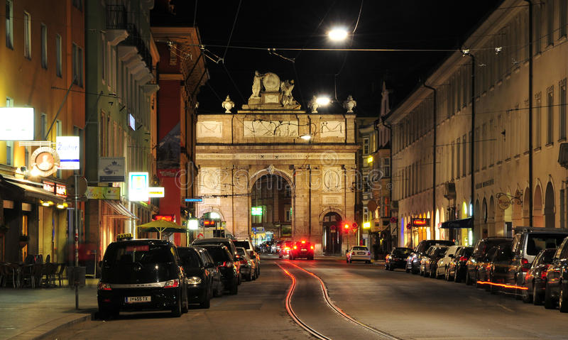 Download Triumphal Arch Maria Theresia Innsbruck Editorial Stock Photo - Image: 18174908