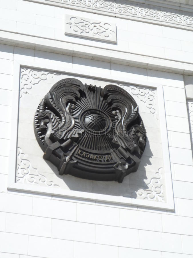 Triumphbogen - Wappen stockfotografie