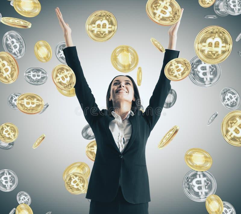 Triunfo de la lotería y concepto comercial fotografía de archivo libre de regalías