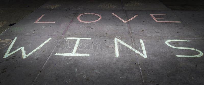Triunfos del amor foto de archivo libre de regalías