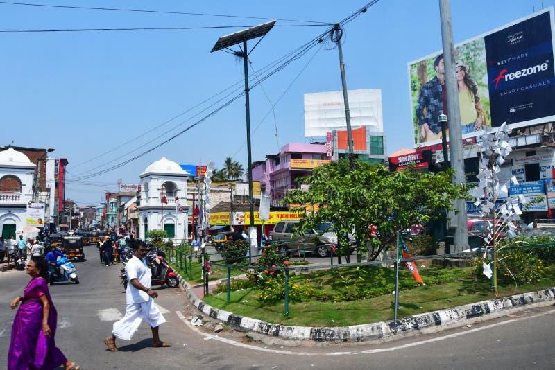 Trivandrum Thiruvananthapuram, ?tat Kerala, Inde, mars, 12, 2019 E image stock