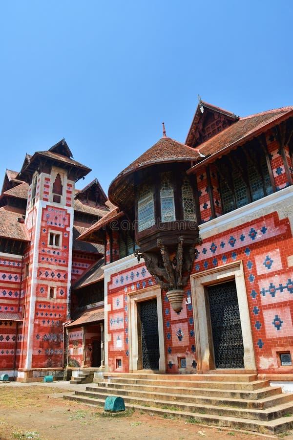 Trivandrum Thiruvananthapuram, ?tat Kerala, Inde, mars, 12, 2019 Mus?e des arts et des m?tiers Ville Thiruvananthapu de Trivandru image stock