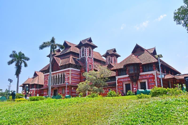 Trivandrum Thiruvananthapuram, ?tat Kerala, Inde, mars, 12, 2019 Mus?e des arts et des m?tiers Ville Thiruvananthapu de Trivandru images libres de droits