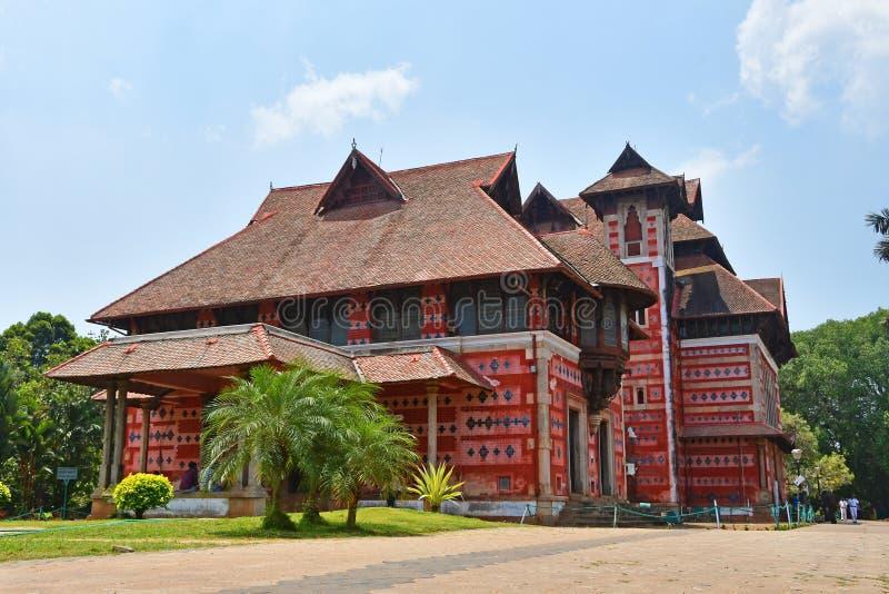 Trivandrum Thiruvananthapuram, ?tat Kerala, Inde, mars, 12, 2019 Mus?e des arts et des m?tiers Ville Thiruvananthapu de Trivandru photo libre de droits